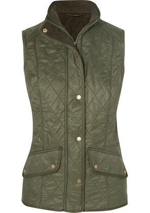 Barbour - Cavalry Quilted Shell Gilet - Green