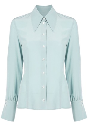 Victoria Beckham fitted shirt - Green