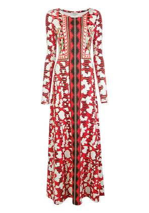 Temperley London Nellie printed dress - Red