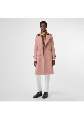 Burberry Cashmere Trench Coat, Pink