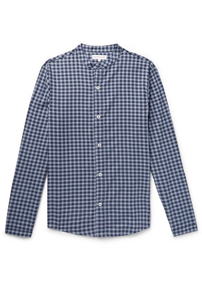 Gingham Cotton And Cashmere-blend Pyjama Shirt