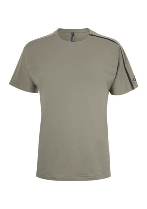 Adidas Sport - Zne Cotton-jersey T-shirt - Army green