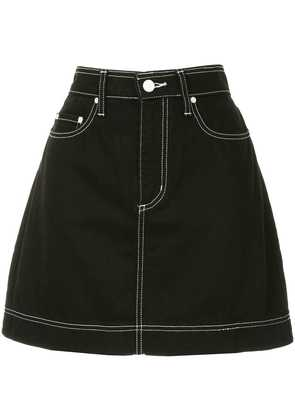 Nobody Denim Piper denim mini skirt - Black