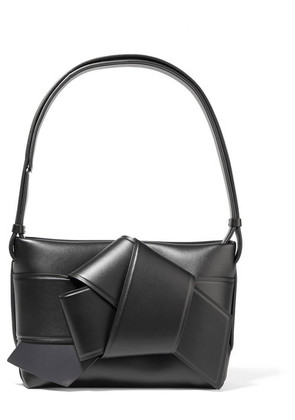 Acne Studios - Musubi Knotted Leather Shoulder Bag - Black