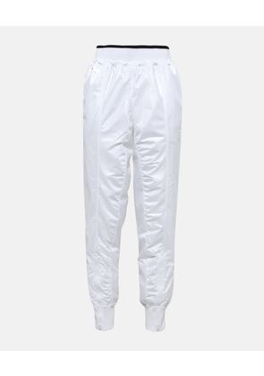 Stella McCartney White White Barricade Sweatpants, Women's, Size S