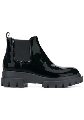 Agl chunky heel ankle boots - Black