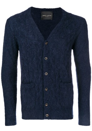 Roberto Collina cable-knit cardigan - Blue