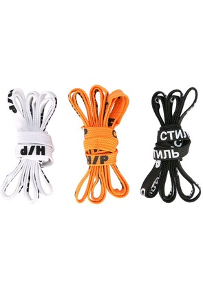 Heron Preston shoelaces set - Multicolour