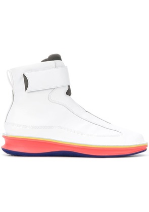 Camper Lab Rolling ankle boots - White