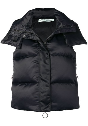 Off-White 'For Riding' padded gilet - Black