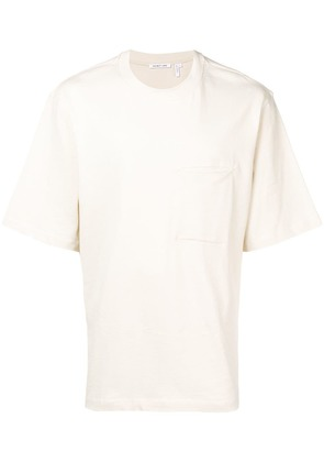 Helmut Lang stitched pocket T-shirt - Neutrals