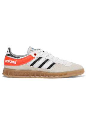adidas Originals - Handball Top Suede, Leather And Mesh Sneakers - Beige