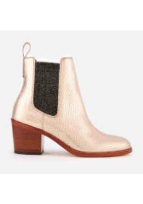 Paul Smith Women's Shelby Heeled Ankle Boots - Gold - UK 3 - Gold