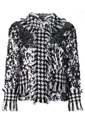 Dolce & Gabbana sequinned tweed jacket - Black