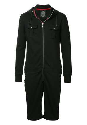 Loveless shorts onesie - Black