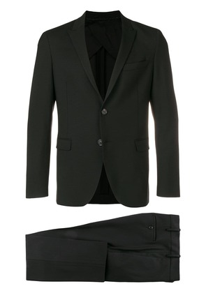 Neil Barrett two piece slim-fitted suit - Black