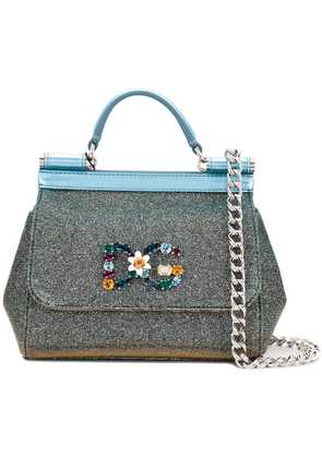 Dolce & Gabbana Sicily mini bag - Metallic