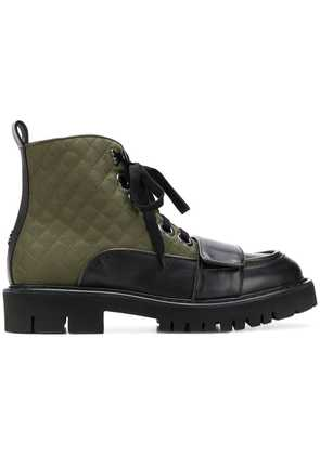No21 lace-up ankle boots - Green