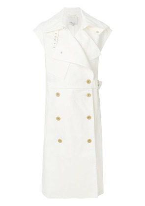 3.1 Phillip Lim Utility belted trench vest - White