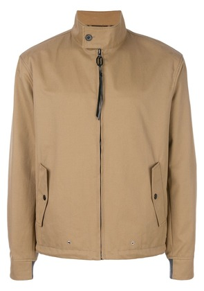 Lanvin casual zipped jacket - Brown