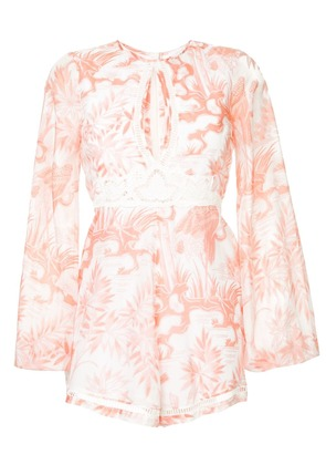 Alice Mccall Where We Go Playsuit - Pink & Purple