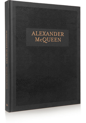 Abrams - Alexander Mcqueen Edited By Claire Wilcox Hardcover Book - Black