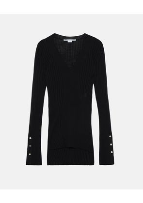 Stella McCartney Black Lightweight Black Knit Jumper, Women's, Size 6