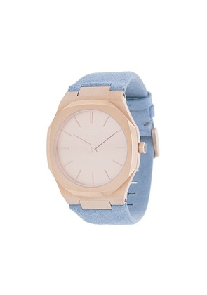 D1 Milano Ultra-thin watch - Blue