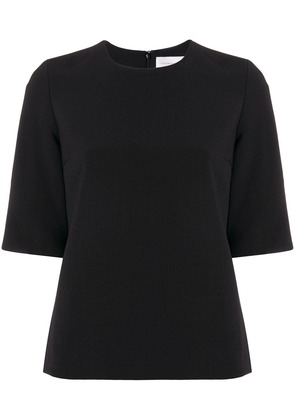 Victoria Beckham shortsleeved blouse - Black