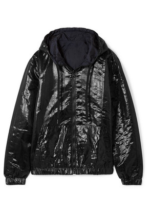 Tomas Maier - Reversible Quilted Shell Hooded Jacket - Black