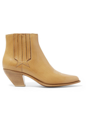 Golden Goose Deluxe Brand - Sunset Leather Ankle Boots - Light brown