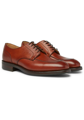 Chiswick R Full-grain Leather Derby Shoes