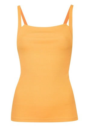 Christopher Esber square neck tank top - Yellow