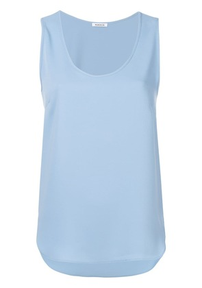 P.A.R.O.S.H. sleeveless fitted top - Blue