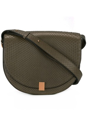 Victoria Beckham flap closure shoulder bag - Green