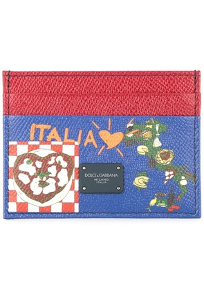 Dolce & Gabbana Dauphine printed cardholder - Multicolour