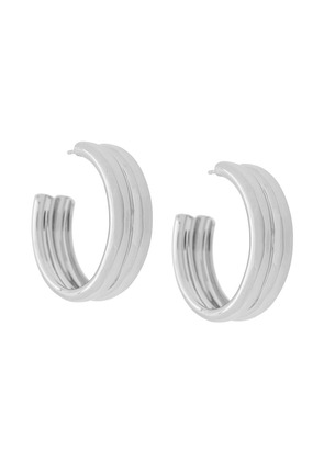 A.P.C. chunky hoops - Silver