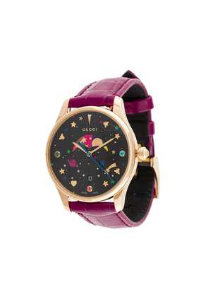 Gucci GUCCI GCYA1264050MOONPHASE BURGUNDY not available - Purple