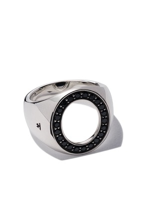 Tom Wood oval open spinel ring - Unavailable