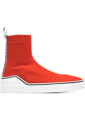Givenchy red George V sock sneakers