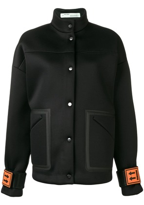 Off-White turtle neck jacket - Black