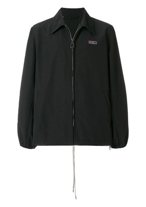 Lanvin embroidered patch jacket - Black