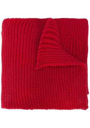 Camiel Fortgens knitted scarf - Red