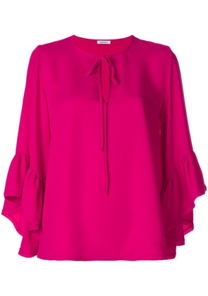 P.A.R.O.S.H. ruffled sleeves blouse - Pink