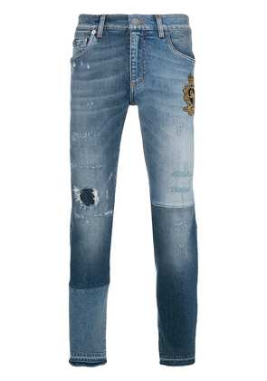 Dolce & Gabbana distressed jeans - Blue