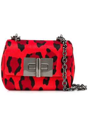 Tom Ford mini leopard print bag - Red