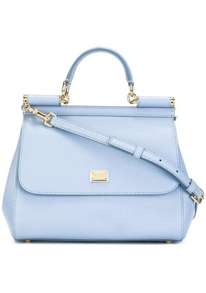Dolce & Gabbana medium Sicily shoulder bag - Blue