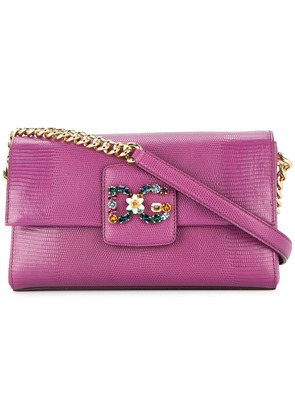 Dolce & Gabbana DG millennials shoulder bag - Purple