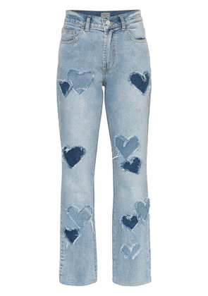 Ashley Williams Melrose Distressed Jeans - Blue