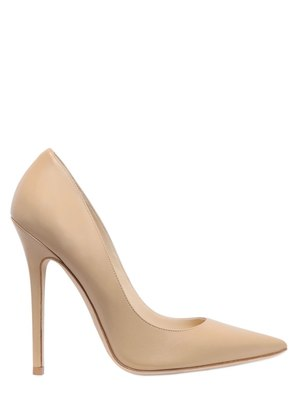 120MM ANOUK LEATHER PUMPS